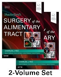 Shackelford's Surgery of the Alimentary Tract, 2 Vol, 8e